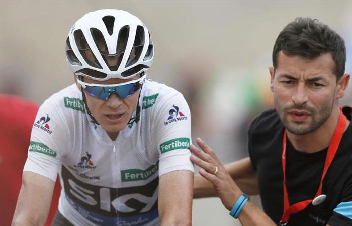 Chris Froome no se quiere rendir en la Vuelta España