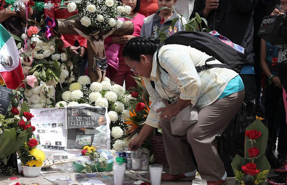Juan Gabriel: Llegada de sus restos a México en imágenes