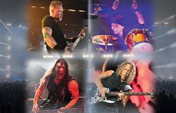 Metallica estará de concierto en Colombia