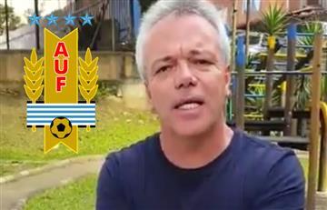 'Popeye' envió un saludo, esta vez, a dos jugadores uruguayos