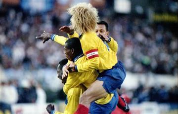 Selección Colombia: se cumplen 23 años del 5-0 a Argentina