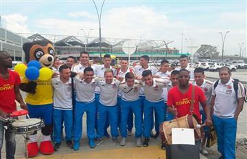 Selección Colombia: así recibieron al equipo de fútsal en Cali