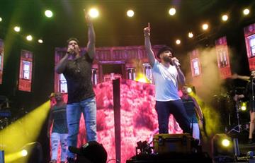 Chino y Nacho intervienen en pelea durante concierto en Barranquilla