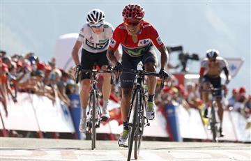 Vuelta a España: Chris Froome da por ganador a Nairo Quintana