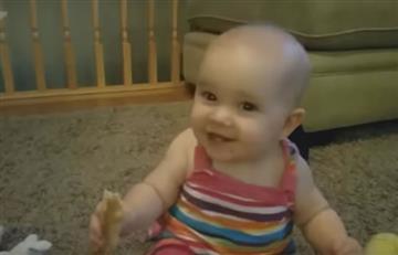 """YouTube: La """"maléfica"""" risa de este bebé es furor en las redes"""