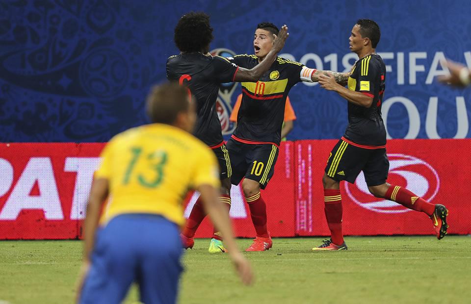Brasil vs. Colombia: lo que usted no vio de la derrota 'tricolor'