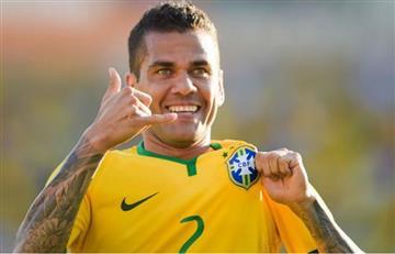 Eliminatorias: Dani Alves elogió a la Selección Colombia