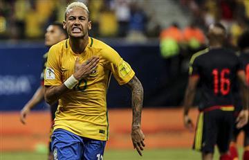 Eliminatorias: Neymar amargó la fiesta de la Selección Colombia