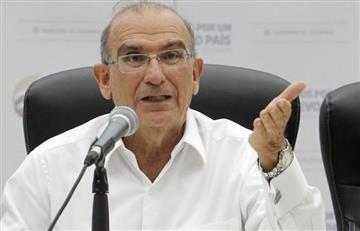 """Humberto de la Calle: """"El NO destruye el apoyo internacional al proceso de paz"""""""