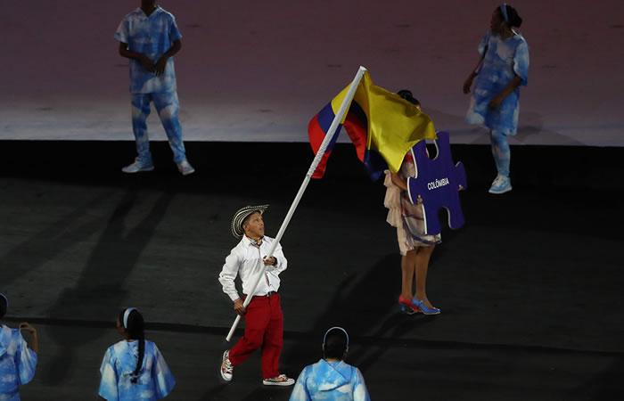 Juegos Paralímpicos: Nelson Crispín fue el abanderado de Colombia