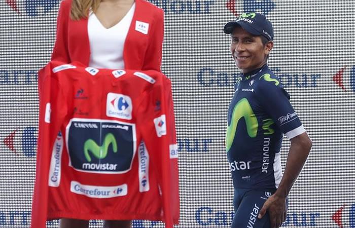 Nairo Quintana y Esteban Chaves mantienen primer y tercer puesto