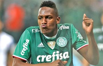 VIDEO: Gol de Yerry Mina en pleno clásico paulista