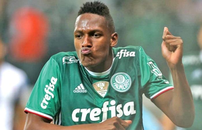 VIDEO: Gol de Yerry Mina en pleno clásico paulista
