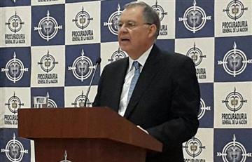 """Procurador: """"El Gobierno y las Farc presionaron mi salida"""""""