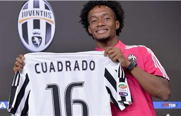 Juan Guillermo Cuadrado llena de ilusión a la Juventus