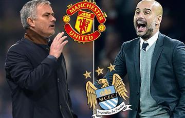 Manchester United vs. Manchester City: Mourinho y Guardiola volverán a enfrentarse