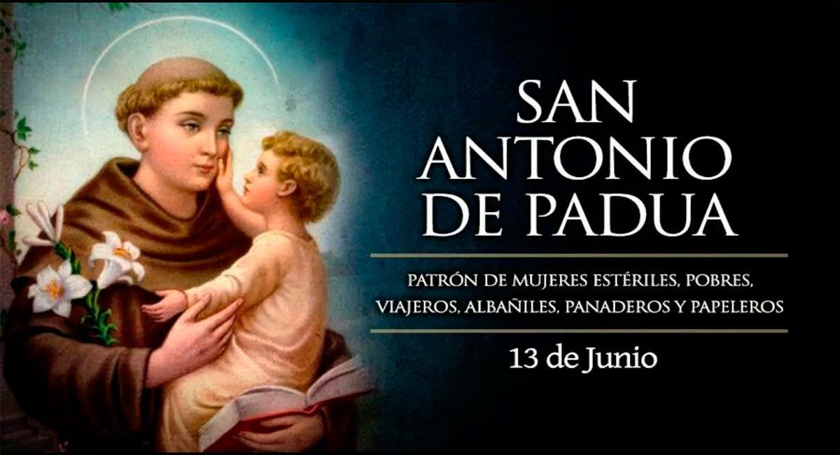 San Antonio de Padua. Foto: Youtube Music Catolica Cristiana