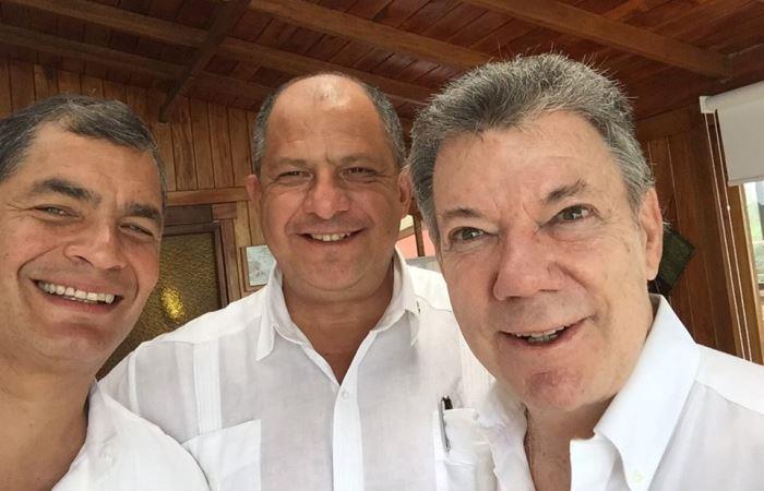 FOTOS: Colombia, Ecuador y Costa Rica firmaron sus límites marítimos