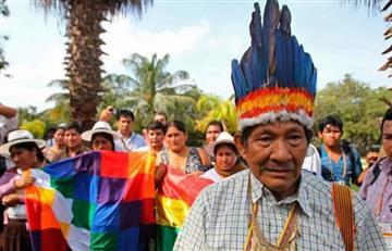 """Indigenasconceden perdón en la """"ceremonia del llanto"""""""