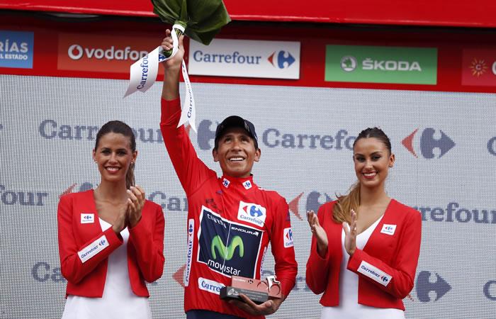 Nairo Quintana campeón de la Vuelta a España
