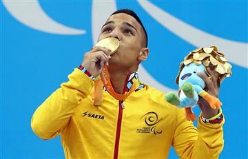 Paralímpicos:Carlos Daniel Serrano otorga primer medalla de oro para Colombia