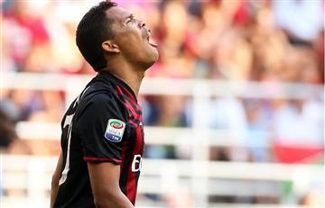 Carlos Bacca fue titular en la derrota del Milán sobre elUdinese