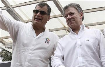 Rafael Correa estará presente en la firma de la paz en Colombia