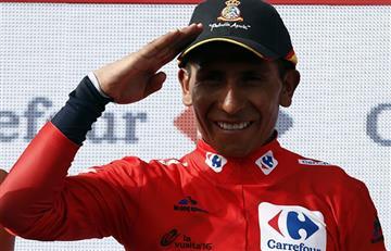 Vuelta a España: Nairo Quintana pone de ruana a España
