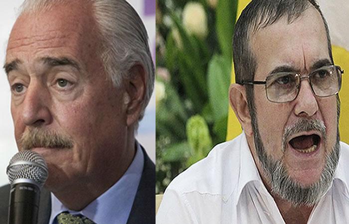 Andrés Pastrana y Rodrigo Londoño, alias