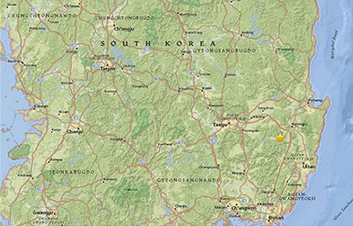 Corea del Sur es sacudida por un terremoto de 5,3 grados