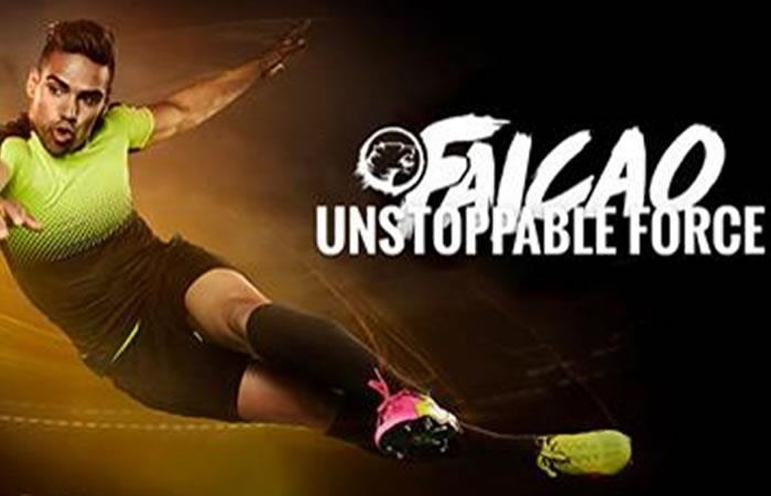 Falcao García lanzó su nueva página web