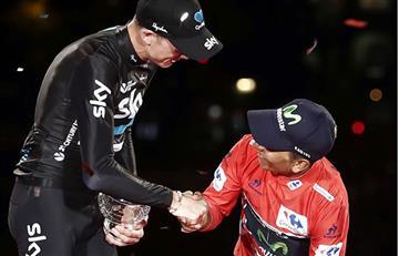 Nairo Quintana y lo que nadie vio de su victoria en España