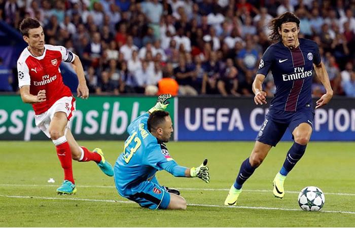 David Ospina vs. el PSG. Foto: EFE
