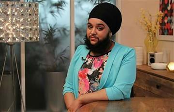 Esta mujer decide no cortarse la barba por respeto a su religión