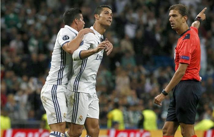 James Rodríguez dio el pase gol de la victoria del Real Madrid