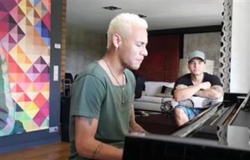 Neymar decepcionó a todos con sus dotes musicales