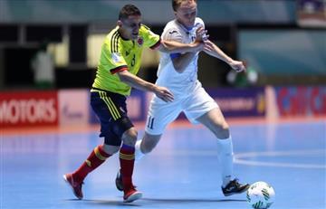 Segundo empate de Colombia en el Mundial de Fútbol Sala