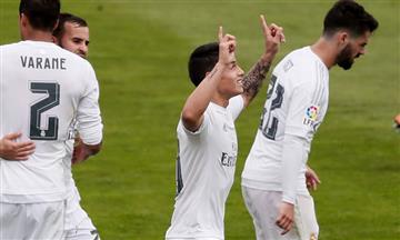 """Zidane: """"Estoy contento con James"""""""