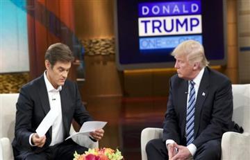 Donald Trump: Su parte médico afirma que esta fuerte y sano