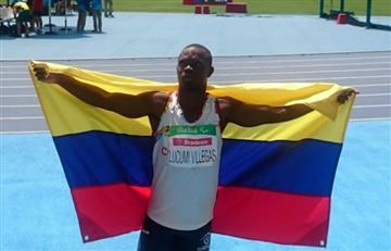 Paralímpicos 2016: Luis Fernando Lucumí gana medalla de plata