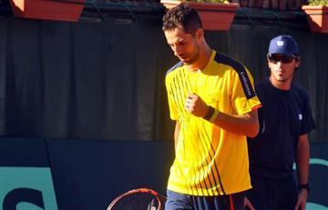 Copa Davis: Partido de Santiago Giraldo aplazado por lluvia