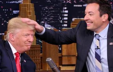 Donald Trump: Jimmy Fallon comprueba si el candidato lleva peluca