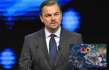Google y Leonardo Dicaprio lanzan página web