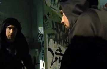 Michael Phelps rapea como Eminem