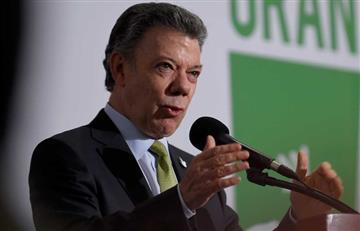 """Santos: """"Que no se repita con las Farc lo que sufrió la UP"""""""