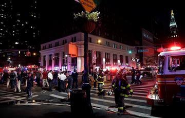Nueva York: Una explosión dejó decenas de heridos