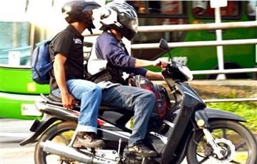 En Cartagena prohíben parrillero de moto por aumento de inseguridad