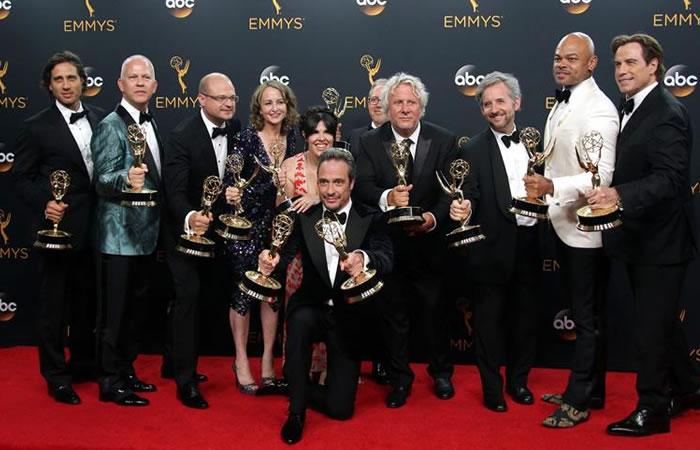 La 68 edición de los premios Emmy se celebró en Los Ángeles. Foto: EFE