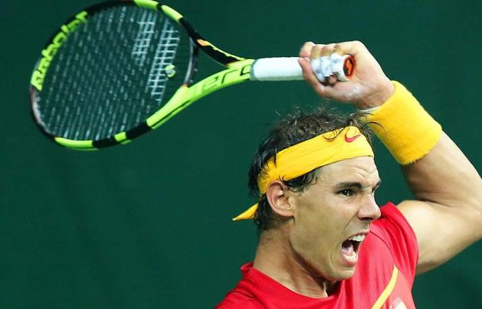 Rafael Nadal es acusado de doping