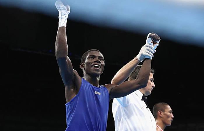 El boxeador colombiano consiguió medalla de plata en Río 2016. Foto: EFE